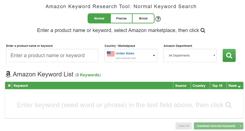 Amazon Keyword Tool 2020