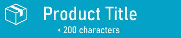 Amazon Product Title < 200 characters